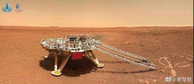 """瞧一瞧""""祝融号火星车首批""""科学影像""""公布-第3张图片-96试玩网"""