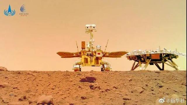 """瞧一瞧""""祝融号火星车首批""""科学影像""""公布-第4张图片-96试玩网"""