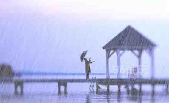 身靠窗沿听雨声,闲敲文字相思行-第2张图片-96试玩网