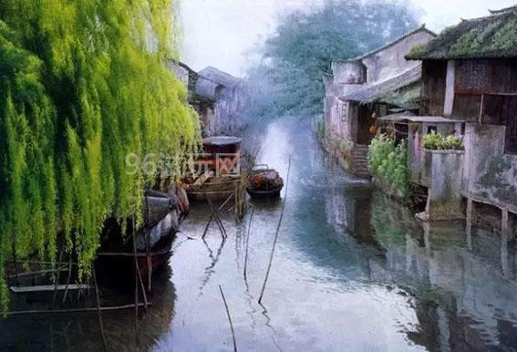 烟雨中的江南,让人流连忘返-第1张图片-96试玩网