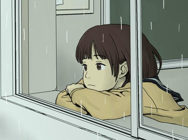 来到窗前观雨,心,自然平静-第1张图片-96试玩网